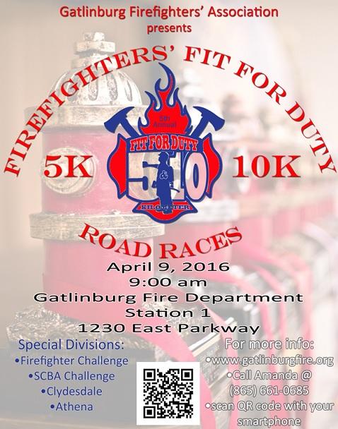 Gatlinburg Firefighters Run For Money