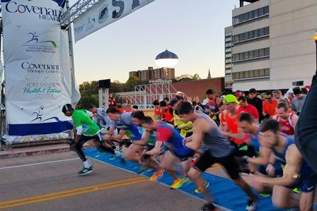 Covenant Health Knoxville Marathon announces race winners, Knoxvillian claims women's title
