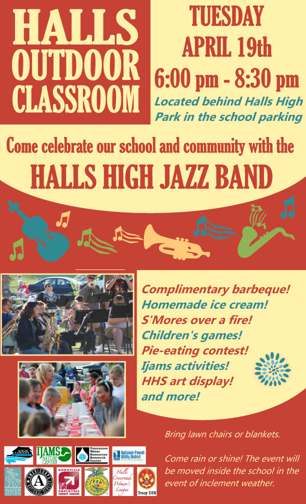 Halls Outdoor Classroom Celebration!