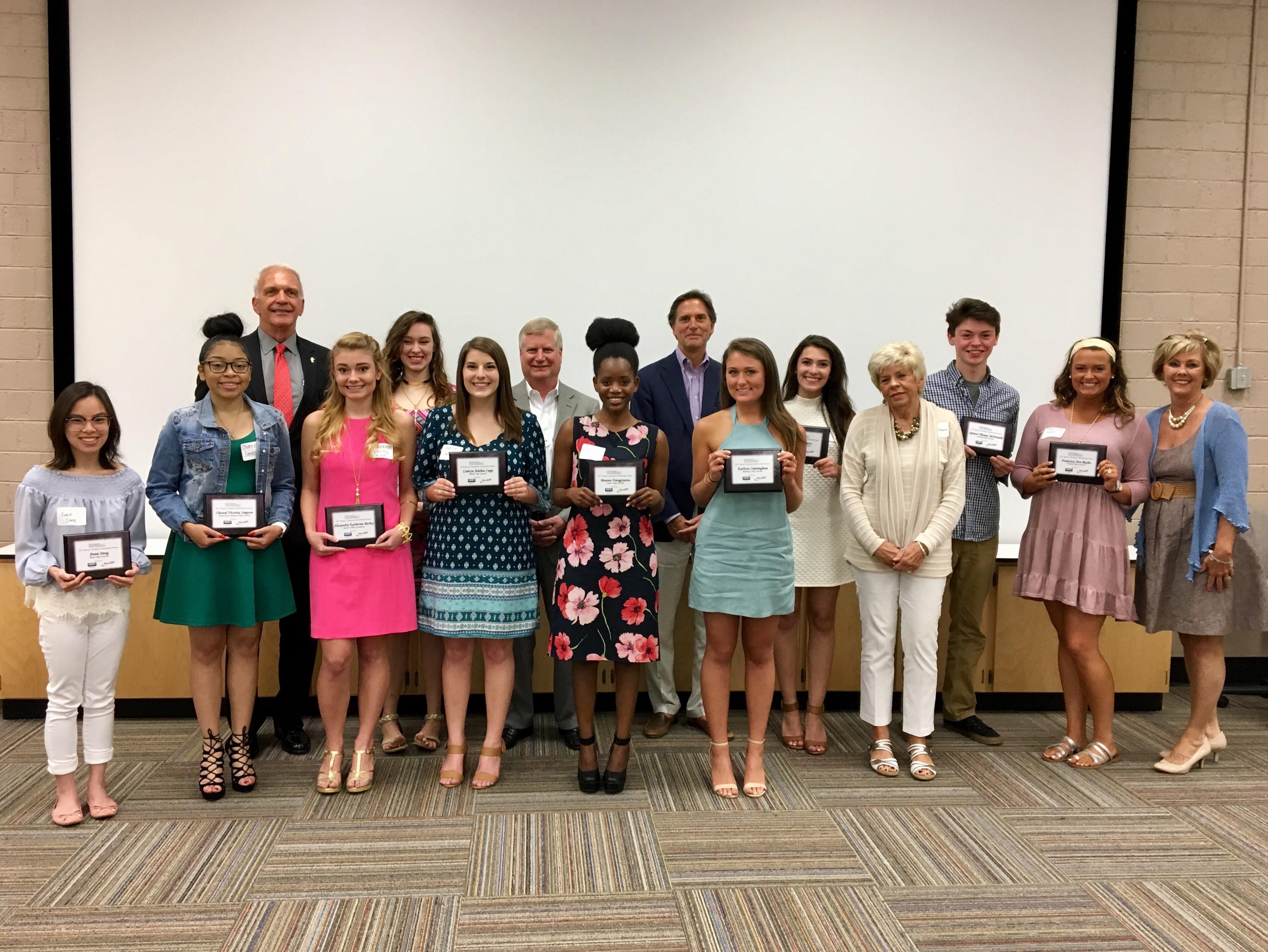 2017 Barney Thompson Scholarship Winners Announced