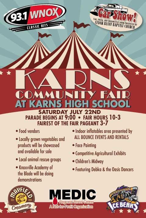 Karns Community Fair at Karns High School