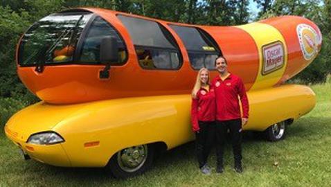 Oscar Mayer Wienermobile begins area tour tomorrow