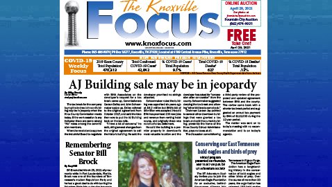 The Knoxville Focus for April 26, 2021